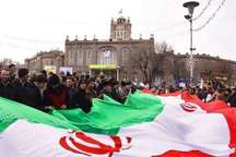 حضور پرشور ارامنه تبریز در جشن چهل سالگی انقلاب