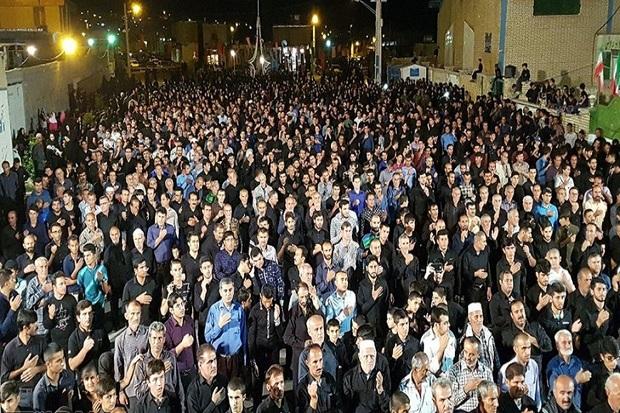 کهگیلویه و بویراحمد در عاشورای حسینی یکپارچه عزادار است