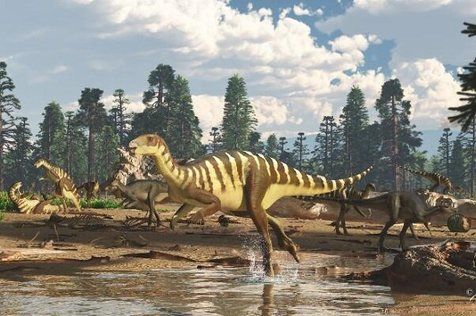 فسیل ۱۲۵ میلیون ساله دایناسور در استرالیا کشف شد