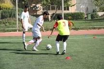 رقابت های فوتبال هفت نفره جانبازان و معلولان کشور در شیراز آغاز شد