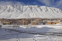 ارتفاع برف در چلگرد چهارمحال و بختیاری به 1.5 متر رسید
