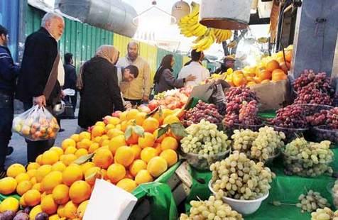 قیمت عمده فروشی ۴۹ قلم میوه و صیفی در ترهبار + جدول