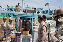 ۱۲۰ میلیارد تومان کالای قاچاق در آبهای بوشهر کشف شد