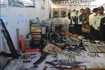 نمایشگاه نیروی انتظامی در قزوین برپا شد