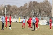 ذخیرههای تیم فوتبال تراکتورسازی تمرین کردند