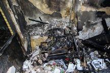 آتش سوزی یک مغازه شیرینی فروشی در قزوین مهار شد