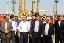 افتتاح ۵ پروژه مهم سرمایه گذاری در بندر امام خمینی با حضور وزیر راه و شهرسازی+ تصاویر