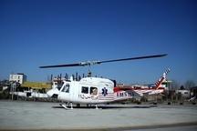 اعزام بالگرد اورژانس به شهرستان عجبشیر