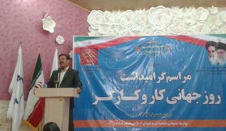 فرماندار مراغه: برنامه ریزی برای رفاه و تامین مطالبات کارگران اولویت دولت است