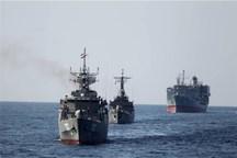 ناوگروه نیروی دریایی ارتش عازم کشور عمان شد