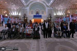 تجدید میثاق جانبازان قطع نخاع با آرمان های حضرت امام خمینی(س)