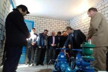 افتتاح پنج طرح عمرانی در بخش مرکزی میانه