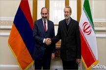 نخست وزیر ارمنستان با لاریجانی دیدار کرد