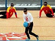 پیروزی گلبال مردان مقابل ژاپن در بازی های پاراآسیایی جوانان