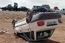 ۴۳درصد از تصادفات فوتی در لرستان از نوع واژگونی خودرو بوده است