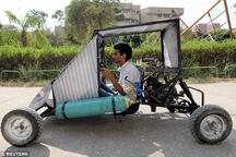 دانشجویان مصری و ساخت خودرویی که با هوا راه میرود