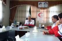 هلال احمر نیر بیش از یک هزار و داوطلب آموزش دیده دارد