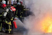 وقوع آتشسوزی در ارومیه ۱۸۰ مورد افزایش یافت