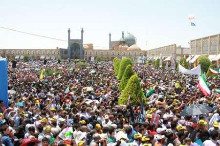 مردم اصفهان به شرکت در راهپیمائی روز جهانی قدس دعوت شدند