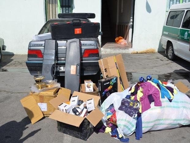 یک میلیارد ریال کالای قاچاق در بیجار کشف شد