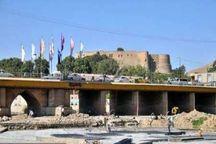 پل گپ خرم آباد به مسیر پیاده رو تبدیل می شود