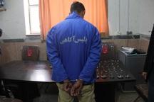 سارقی در میاندوآب طی کمتر از 24 ساعت دستگیر شد