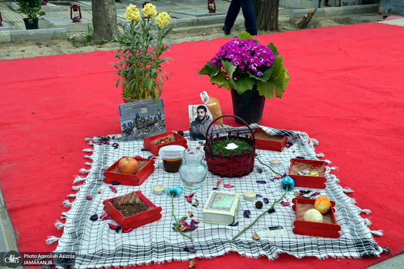 پنجشنبه آخر سال در گلزار شهدای بهشت زهرا(س)