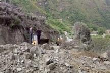 محدوده طرح هادی روستای افسرآباد دوباره رانش کرد
