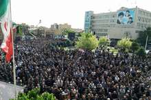 پیکر حجت الاسلام حسنی تشییع شد