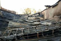 آتش سوزی کارگاه صنعتی در جنوب تهران مهار شد