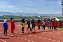 10 دختر دونده خراسان شمالی به مسابقات کشوری اعزام شدند