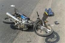 2 راکب موتور سیکلت در سانحه رانندگی اسدآباد جان باختند