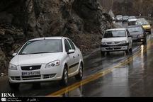 راه های استان البرز لغزنده است