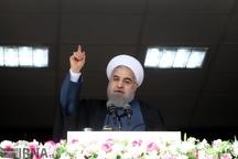 روحانی: با اذن و تأیید رهبری، رئیس جمهوری فرمانده جنگ اقتصادی است