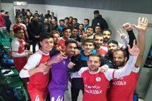 شهرداری همدان به بقا در لیگ 2 فوتبال کشور امیدوار شد