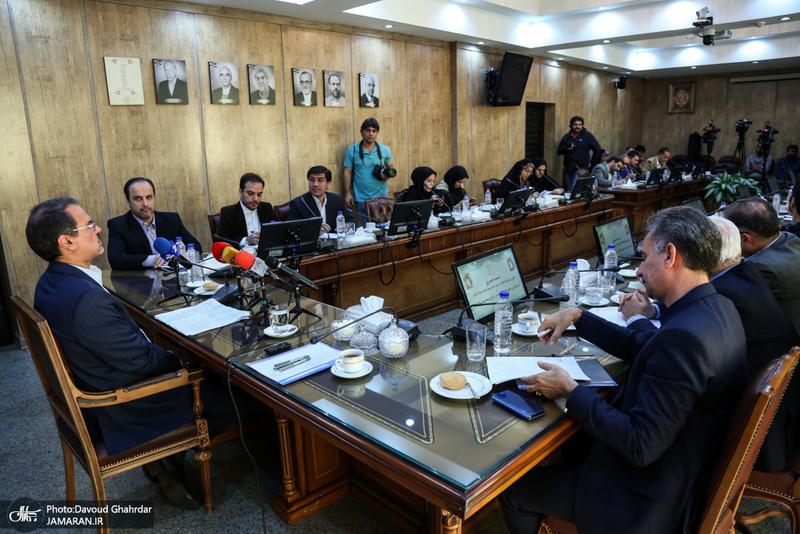 نشست خبری رئیس سازمان ثبت اسناد و املاک کشور
