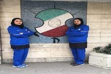 عضویت دو بانوی شمشیرباز لاهیجانی در تیم ملی