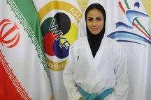 سارا بهمنیار فینالیست لیگ جهانی کاراته شد