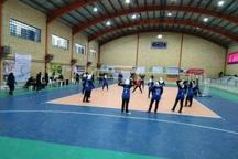 روز نخست مسابقات والیبال دسته اول بانوان در قزوین برگزار شد