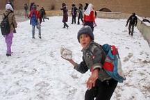 مدارس ابتدایی قزوین در نوبت عصر تعطیل اعلام شد