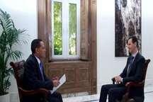 بشار اسد: فقط با توقف پشتیبانی از تروریستها امنیت به سوریه بازمی گردد