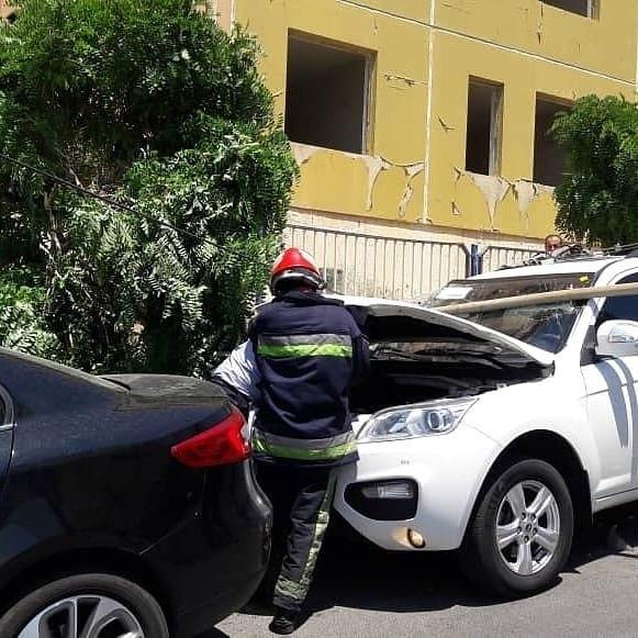 سقوط جرثقیل در نگین پارک تبریز 1 مصدوم بر جای گذاشت