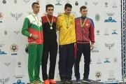 امیرمحمد بخشی به مدال طلای جهان دست یافت
