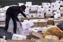 18 میلیارد ریال انواع کالای قاچاق در بندرعباس کشف شد