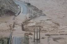 طغیان رودخانه راه ارتباطی 12روستا در بخش چلو اندیکا را قطع کرد