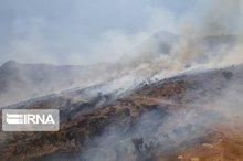 بیتوجهی گردشگران، کوه دراک شیراز را به آتش کشید