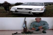 دستگیری سه شکارچی غیر مجاز در بیله سوار مغان