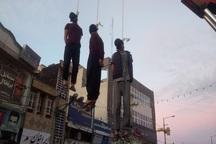 سه سارق طلافروشی یاسوج در ملاء عام اعدام شدند