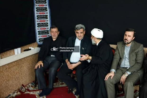 حضور شهردار تهران در مراسم عزاداری اباعبدالله الحسین(ع) ایرانیان مقیم وین