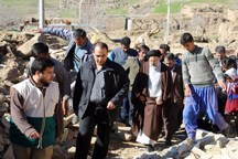 اقلام حیاتی روستای زلزلهزده «کلاته قدم» خراسان رضوی تأمین شد